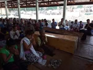 အသတ်ခံရသူ ၂ ဦး အသုဘအခမ်းအနား(Mi Hong SA)