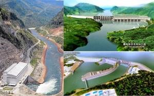 သံလွင်မြစ်ရေကာတာစီမံကိန်းအချို့(Internet)