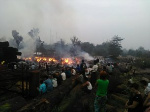 သစ်အချောထည်စက်မီးလောင်နေစဉ်(MNA)