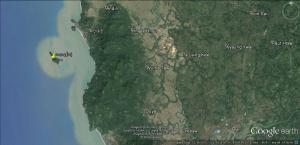 ကော့ကွန်းလုံကျွန်း(Google Earth)