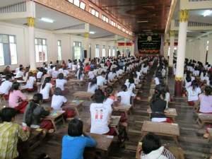 နွေရာသီမွန်စာပေသင်တန်း ကျောင်းသားများ(MNA)