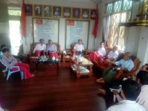 NMSP, MNP ဇွန် ၆ ရက်နေ့တွင်တွေ့ဆုံခဲ့စဉ် ( Facebook ဗော်ကောန်ဂကူမန်)