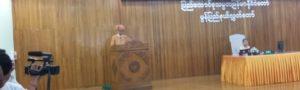 မွန်ပြည်နယ် ဝန်ကြီးချုပ် မင်းမင်းဦး(မွန်ပြည်နယ်လွှတ်တော်)