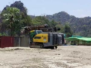 ဘိလပ်မြေစက်ရုံတည်ဆောက်ရန် JUNEကုမ္ပဏီစတင်ပြင်ဆင်နေပုံ(MNA)