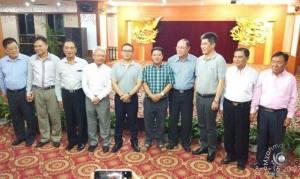 မဟာမိတ် ၃ ဖွဲ့နှင့် အစိုးရကိုယ်စားလှယ်အမှတ်တရပုံ(Internet)