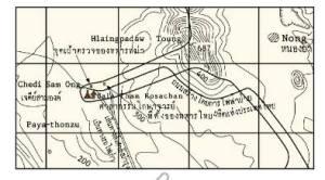 ထိုင်း မြေပုံ
