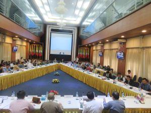 Political Frame Work ပြန်လည်သုံးသပ်ခြင်းအစည်းအဝေး(NRPC)