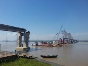သံလွင်တံတား (ချောင်းဆုံ)တည်ဆောက်နေမှုအခြေအနေ(MNA)