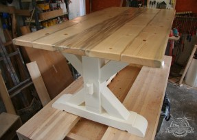 x dining table white base 1