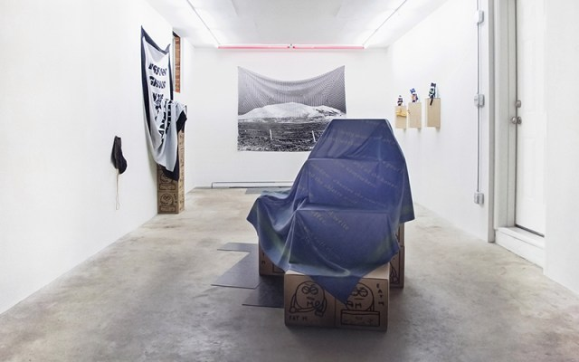 Talon Gustafson Country Husband (Eat M) Exhibition View. Image courtesy the gallery.