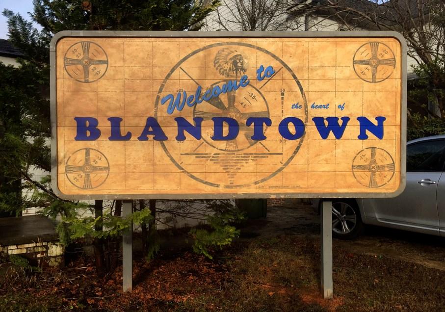 Gregor Turk, Welcome to Blandtown