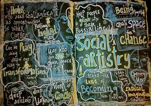 Social Artistry Drawing