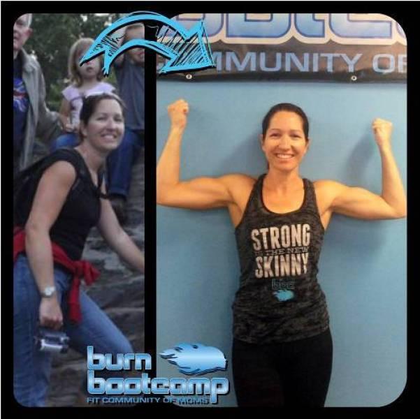 Kat Eide Burn Bootcamp Cornelius Weight Loss Story