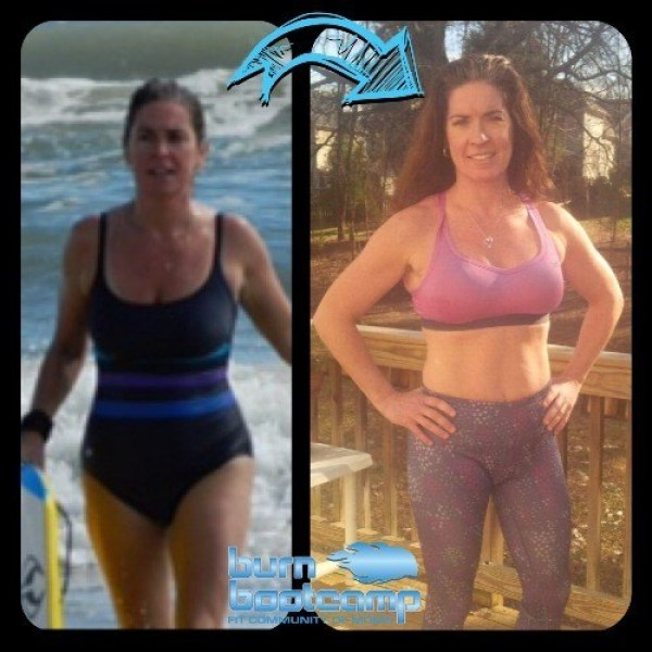 Erin Morey Burn Bootcamp Huntersville Weight Loss Story