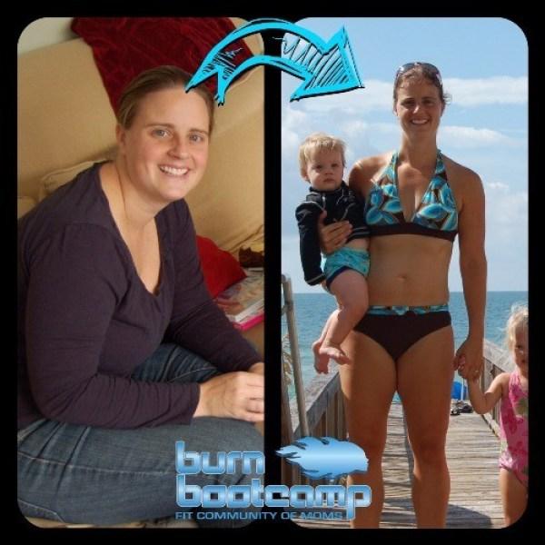Jen Fisher Burn Bootcamp Huntersville Weight Loss Story