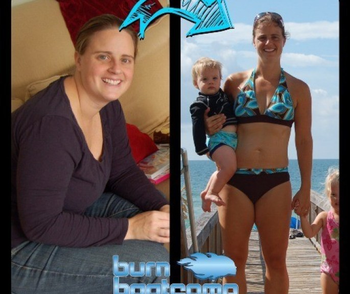Jen Fisher Before and After