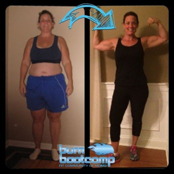 Kileen Scholl Burn Bootcamp Huntersville Weight Loss Story