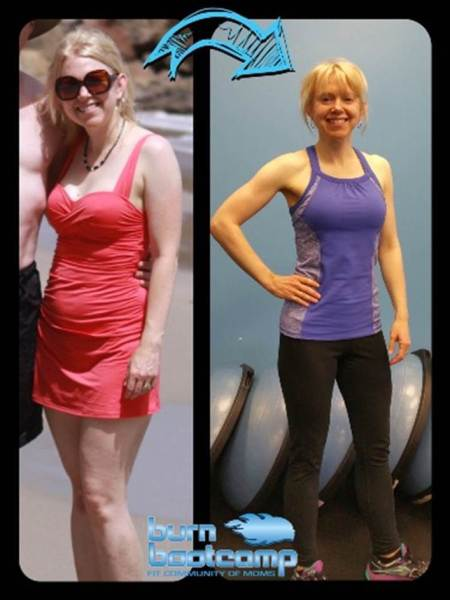 Heather Kuhl Burn Bootcamp Mooresville Weight Loss Story
