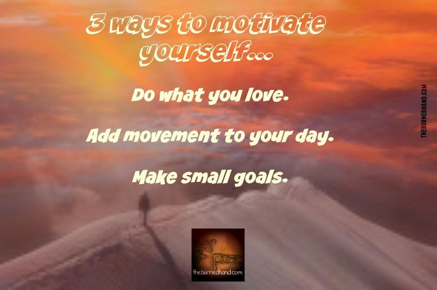 3 ways to motivate