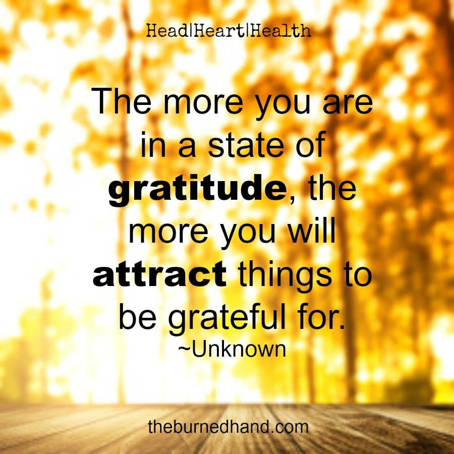 State of gratitude