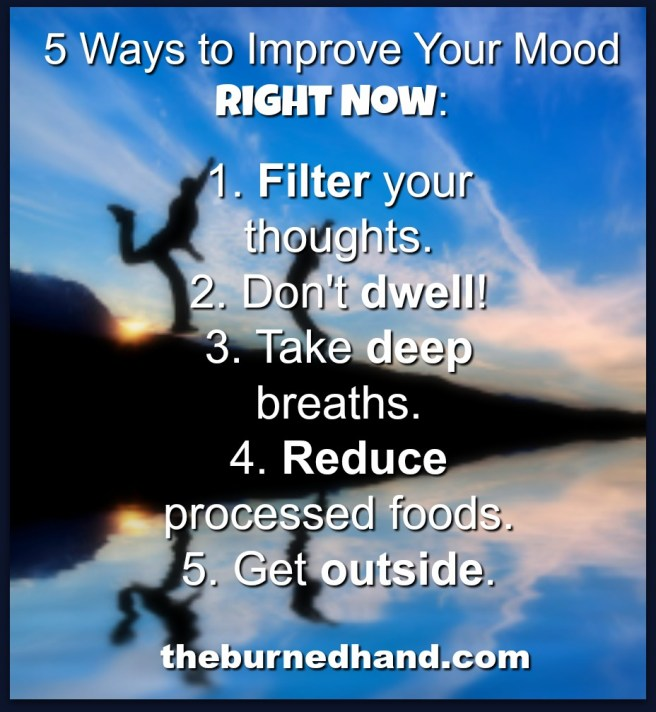 5 Ways to improve mood