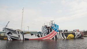 dazzle ship MV Fingal