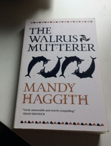 cover of mandy haggith's walrus mutterer