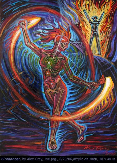 alex grey burning man