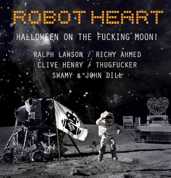 robot heart on the moon