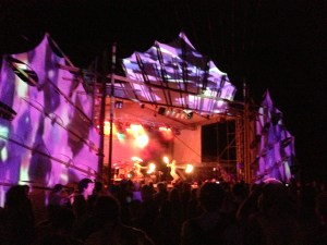 some great visuals at the Luna stage
