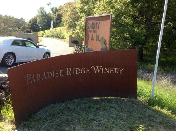 Entrance to Paradise Ridge
