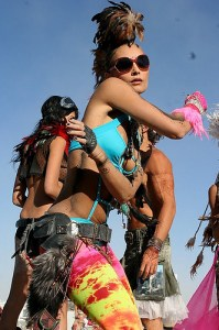 feathered raver