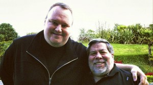 """""""It's just kind of ridiculous what they did to his life,"""" DotCom's new buddy Wozniak told the AP. """"An awful lot of Kiwis support him. The U.S. government is on thin ground."""""""