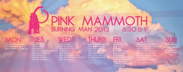 pink mammoth 2013