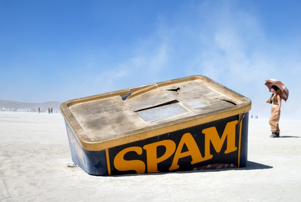 SpamTanic by Karen Weir (Burning Man 2012) Photo: Wendy Goodfriend