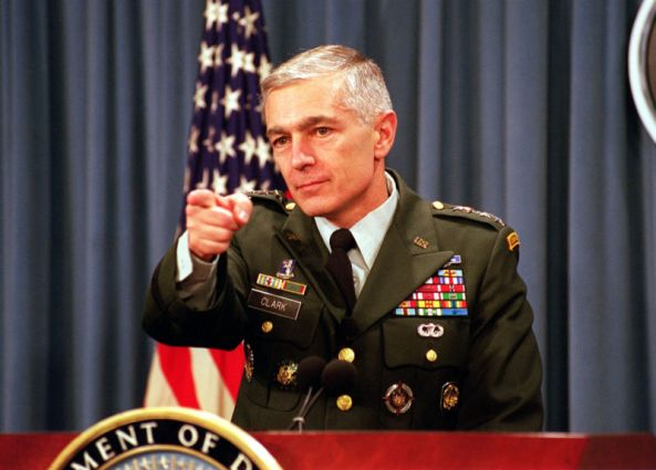 General Wesley Clark (retired) - PHOTO: R.D. Ward