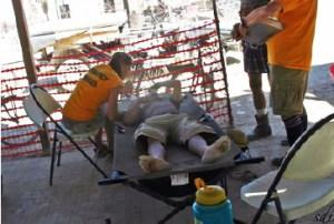 stretcher patient