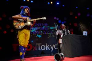 Burning Man's Social Alchemist Bear Kittay also took the stage at TEDxTokyo