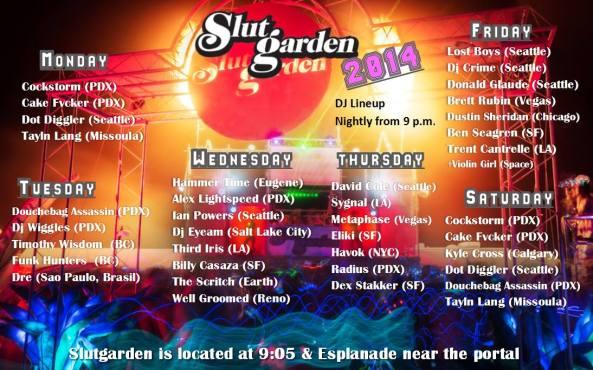 2014 slut garden