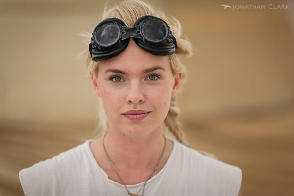 burning-man-2013-cargo-cult-black-rock-city-jonathan-clark-blonde-woman-with-goggles
