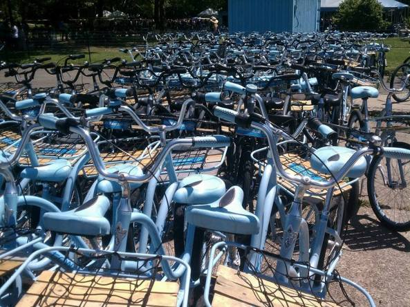 They just purchased a brand new fleet of Electra Townies