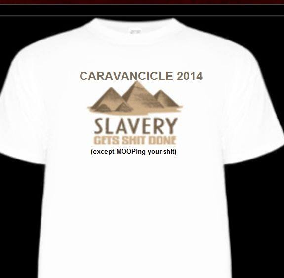 caravancicle tshirt