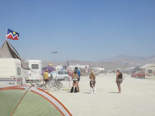 Blackhawk at Burning Man. Image: Chris Olewnik