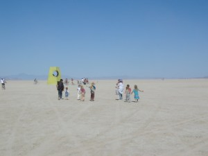 Kids at Burning Man, 2004. Image: Waltarrrr/Flickr (Creative Commons)