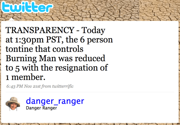 danger tweet 2008 nov 21