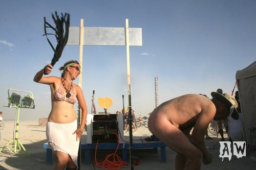 This type of hetero-normative behavior will no longer be tolerated at Burning Man