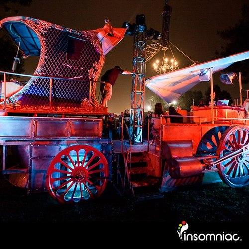 insomniac art car