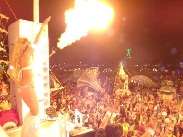 dancetronauts party