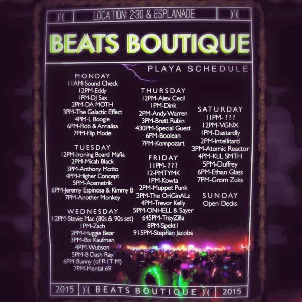 2015 beats boutique