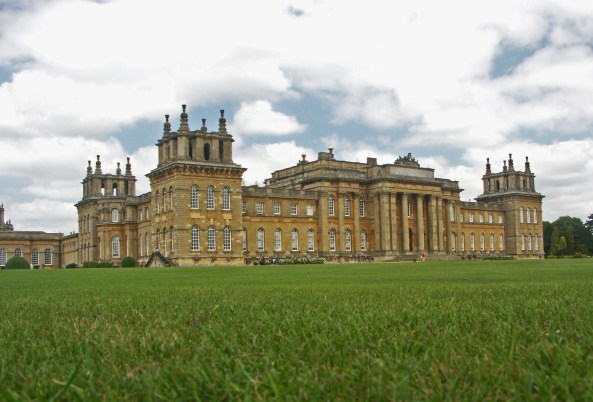 Blenheim Palace, ancestral home of the Dukes of Marlborough. Image: 1967jwm, via Flickr (Creative Commons)